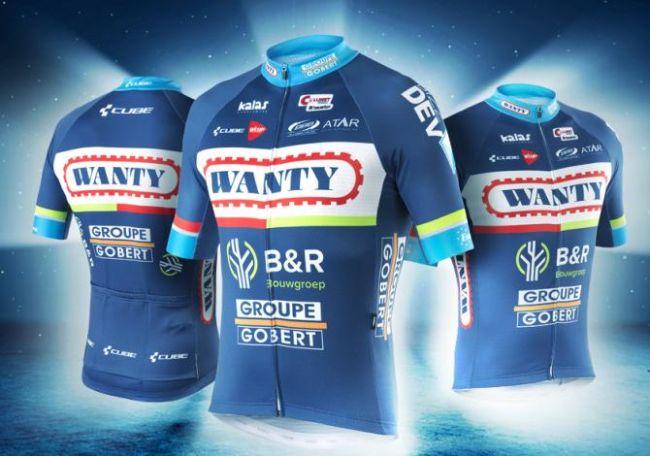 Wanty-Groupe Gobert presenta el kit de equipo 2016
