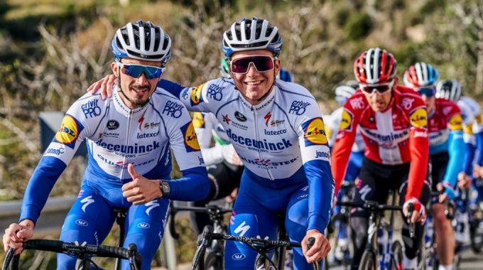 Deceuninck-Quick-Step revela nuevo kit y nuevo patrocinador