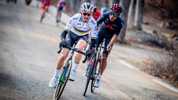 Alaphilippe: todas las carreras a partir de ahora hasta Lieja-Bastoña-Lieja serán importantes